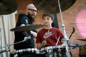Drum Rehearsal Photo